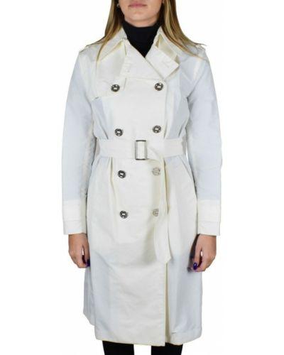 Biały płaszcz Ralph Lauren