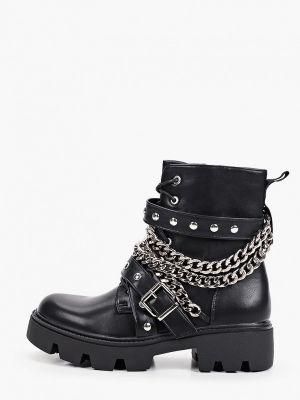 Черные демисезонные полуботинки Ideal Shoes®