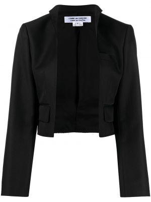 Открытая черная куртка с карманами Comme Des Garçons Comme Des Garçons