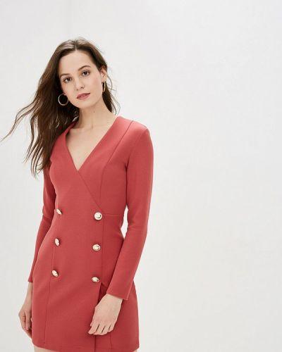 Платье розовое платье-пиджак Gepur