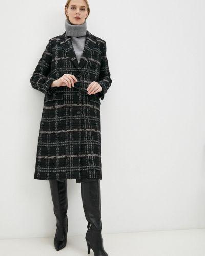 Пальто - черное Karl Lagerfeld