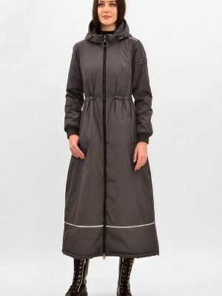 Утепленная куртка - серая Pavel Yerokin