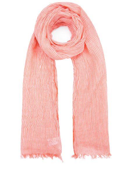 Кашемировый классический белый шарф прямоугольный Malo