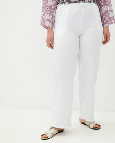 Прямые брюки - белые Prewoman