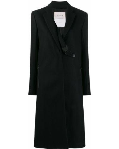 Шерстяное черное длинное пальто 1017 Alyx 9sm