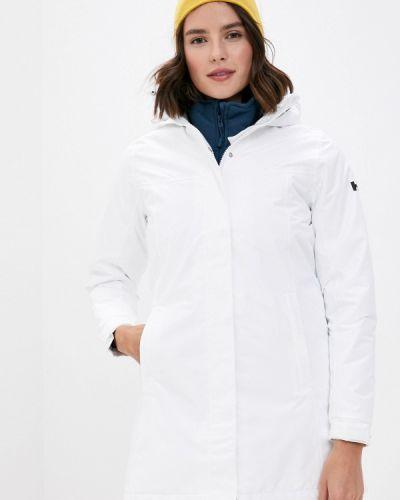 Теплая белая утепленная куртка Helly Hansen