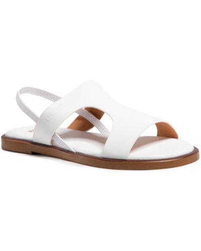 Białe sandały Big Star