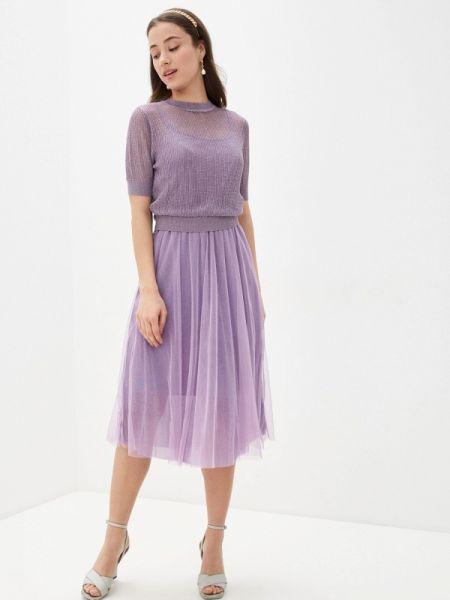 Фиолетовое платье With&out