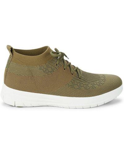 Кроссовки на шнуровке Fitflop