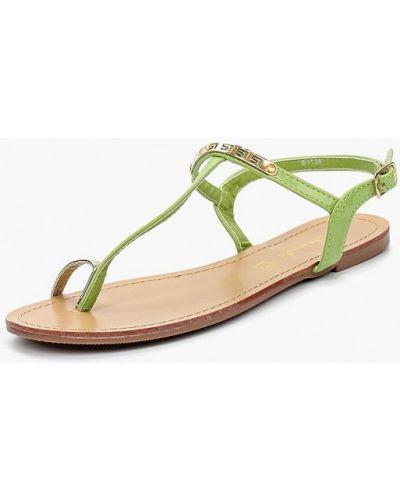 Зеленые сандалии Saivvila