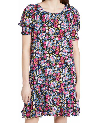 Платье из вискозы - черное Yumi Kim