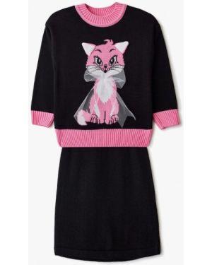 Пиджак черный костюмный Pink Kids