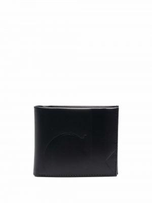 Кожаный кошелек - черный Calvin Klein