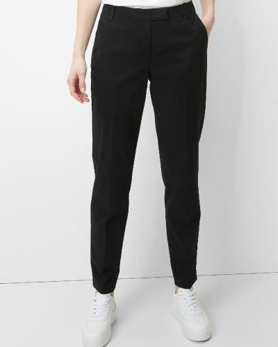 Хлопковые черные брюки с карманами Marc O' Polo