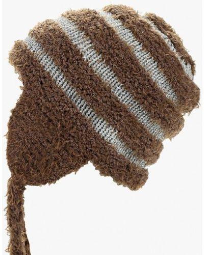 Шапка-ушанка - коричневая Moltini