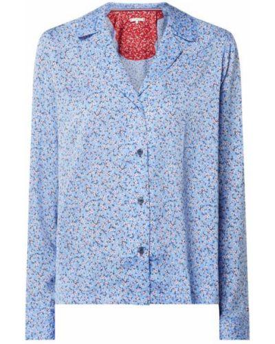 Niebieska piżama z długimi rękawami Tommy Hilfiger