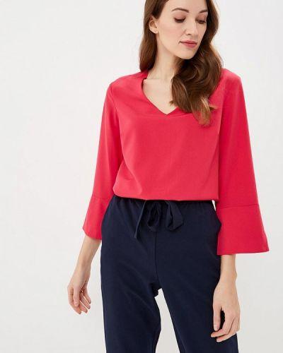 Блузка с длинным рукавом розовая весенний Modis