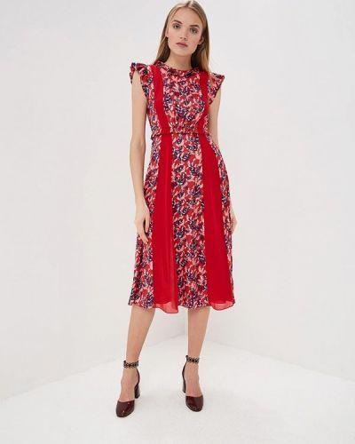 Повседневное платье весеннее Three Floor