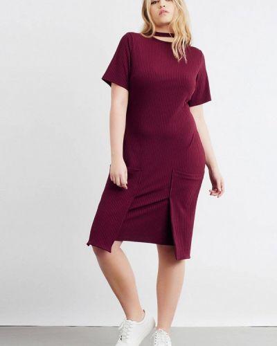 Повседневное платье фиолетовый Lost Ink Plus