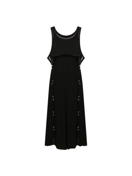 Платье из вискозы Loewe