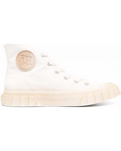 Кроссовки на шнуровке - белые Misbhv