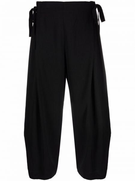 Черные брюки с завышенной талией Henrik Vibskov