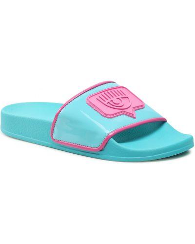 Niebieskie sandały Chiara Ferragni