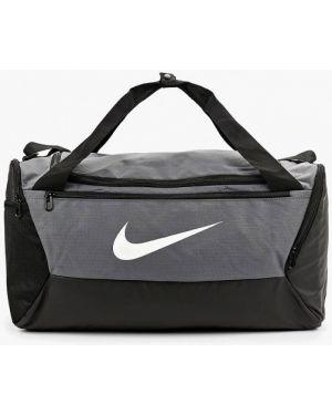 Спортивная сумка текстильная серая Nike