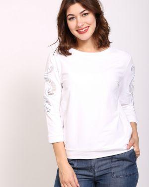 Хлопковый пуловер - белый Just Valeri