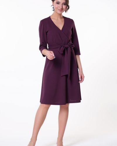 Платье с поясом с запахом платье-сарафан Valentina