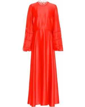 Вечернее платье летнее шелковое Roksanda