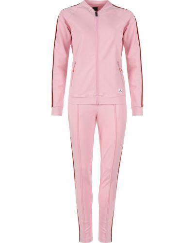 Костюмный розовый спортивный костюм Bogner