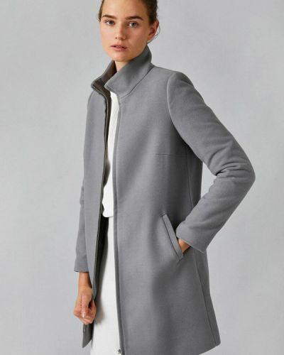 Серое пальто Koton
