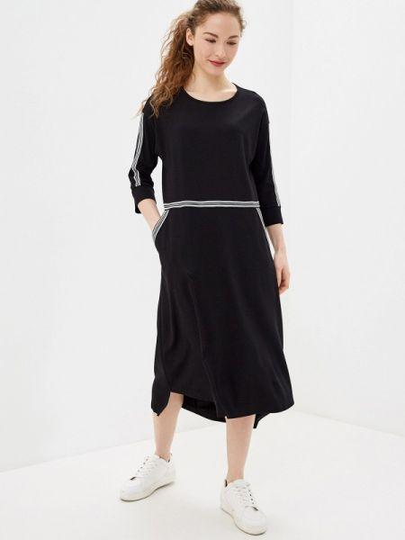 Платье прямое черное Lina