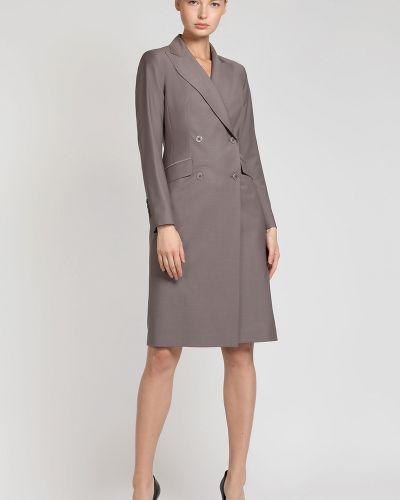 Платье на пуговицах платье-пиджак Vassa&co
