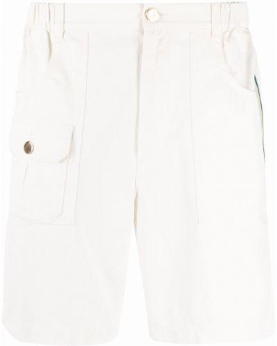 Bermudy - białe Gucci