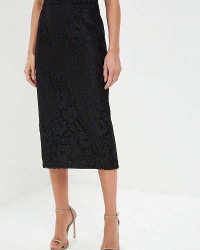 Черная прямая юбка карандаш Alessandro Dell'acqua