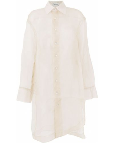 Рубашка белая бежевый Balossa White Shirt