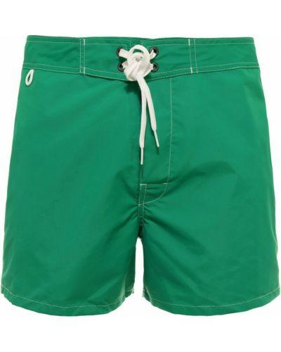 Zielone kąpielówki Sundek