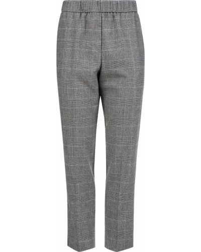 Шерстяные брюки - серые Peserico