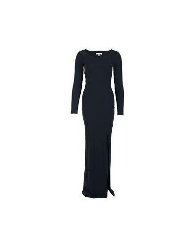 Вечернее платье облегающее черное Patrizia Pepe