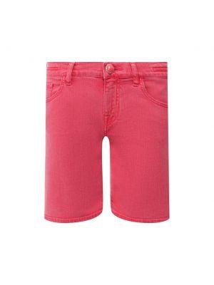 Красные джинсовые джинсовые шорты Jacob Cohen