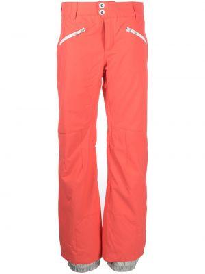 Розовые брюки с карманами с манжетами Rossignol