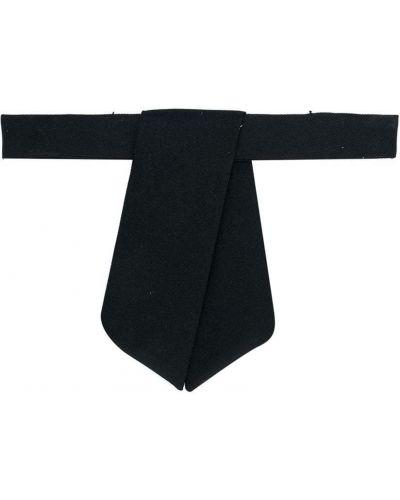 Черный галстук на крючках эластичный Dsquared2 Kids