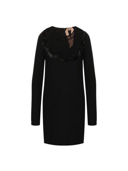 Шелковое платье - черное No. 21
