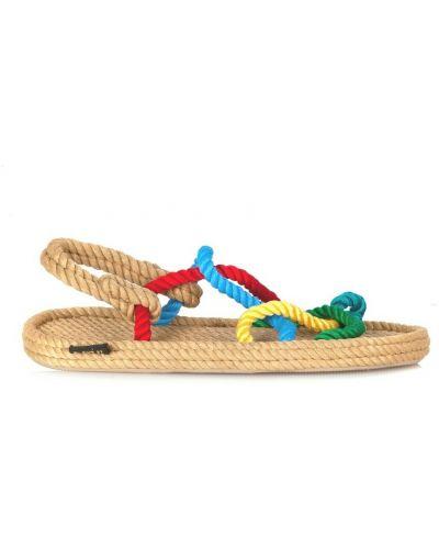 Brązowe sandały Bohonomad