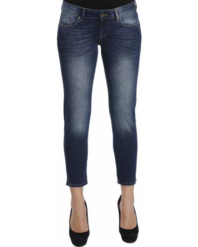 Хлопковые джинсы - синие Iceberg