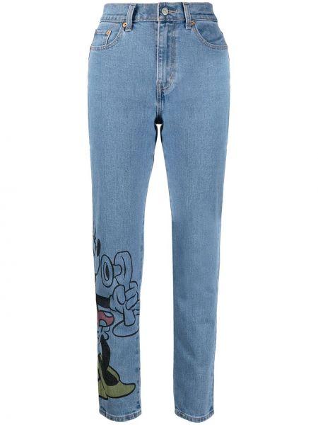 Bawełna bawełna niebieski jeansy chłopaki z kieszeniami Levi's