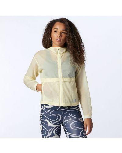 Облегченная куртка - желтая New Balance
