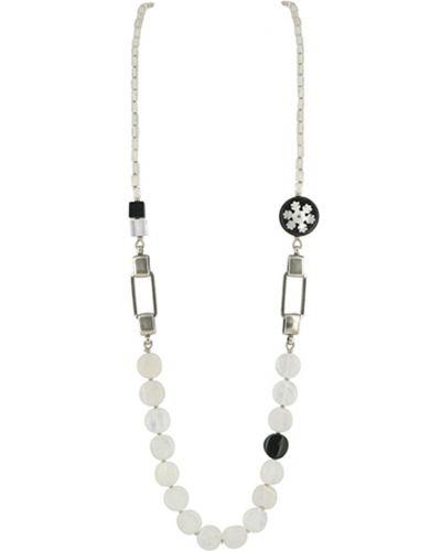 Белое ожерелье Nature Bijoux